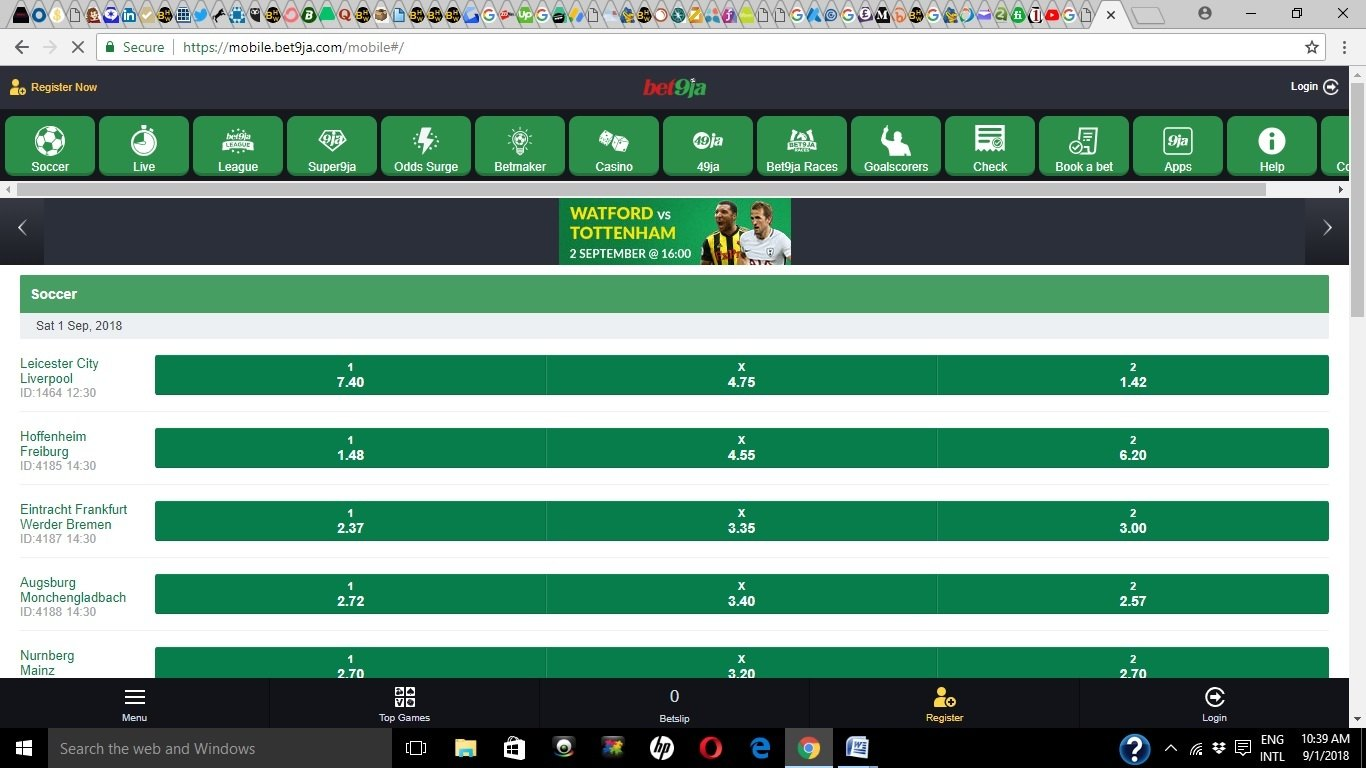 Bet9ja mobile betting app trade binary options free