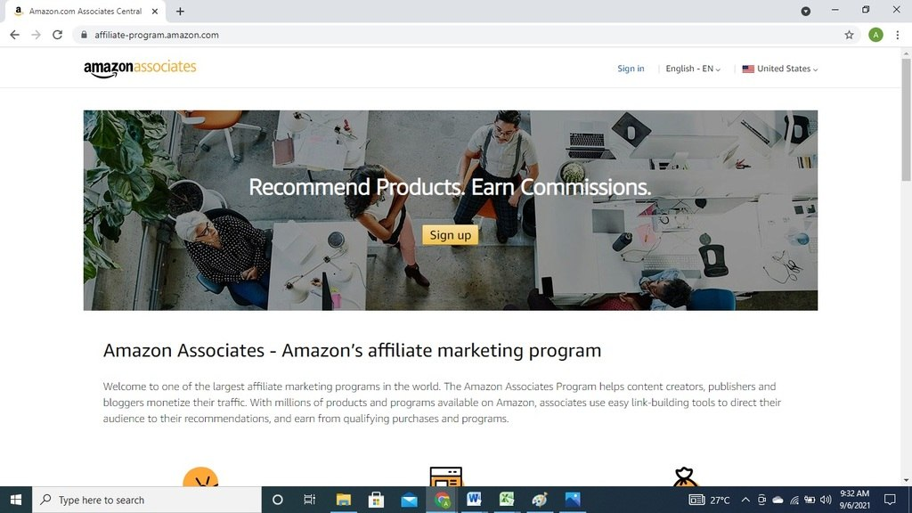 amazon affiliate for students