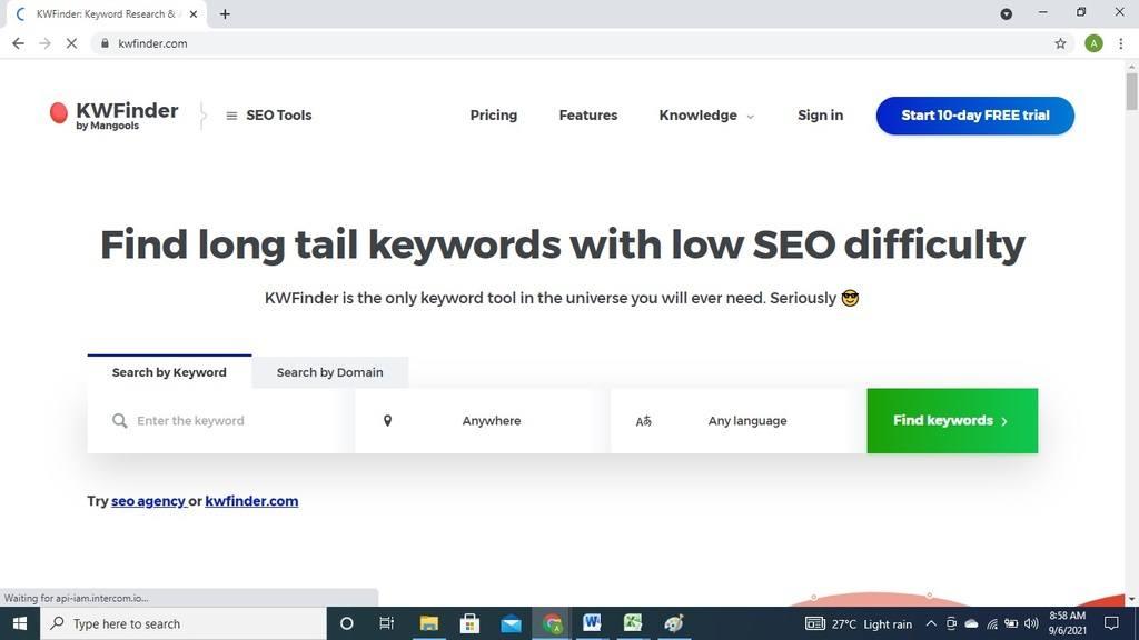 best keyword search tool