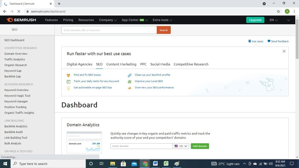 top keyword research tool for blogging and seo